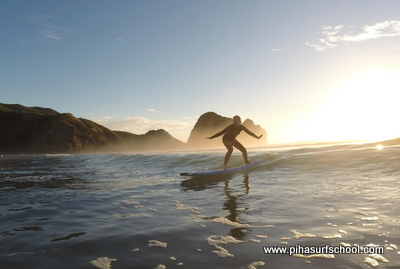 Piha Surf School - West Coast, Auckland, New Zealand