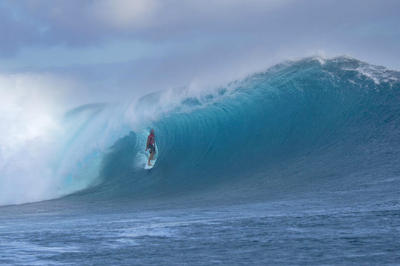 Australias Owen Wright Winning The Lastest Wsl Event In Fiji